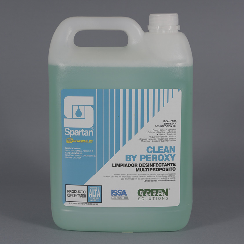 CLEAN BY PEROXY – LIMPIADOR DESINFECTANTE MULTIPROPOSITO