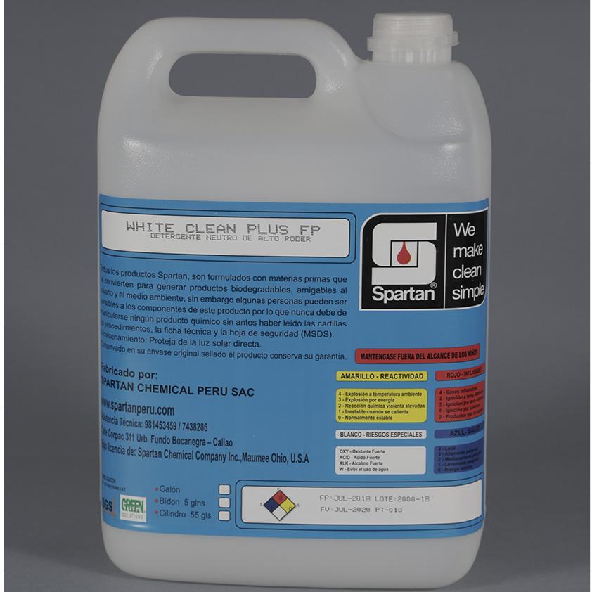 WHITE CLEAN PLUS FP – Detergente Neutro