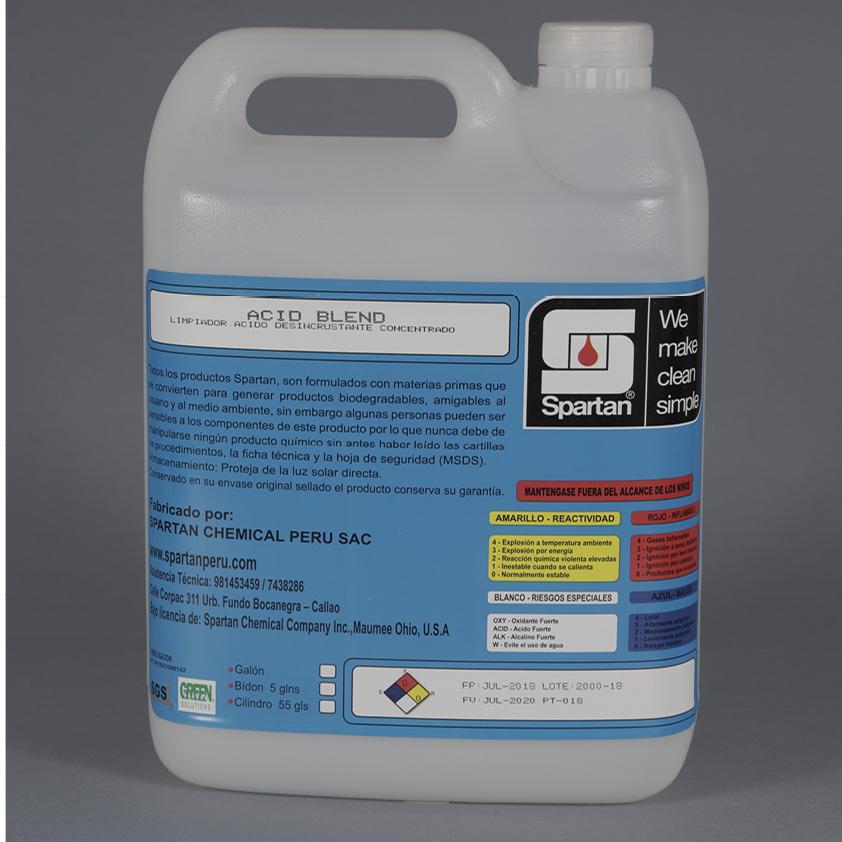 ACID BLEND FP – Limpiador ácido desincrustante concentrado