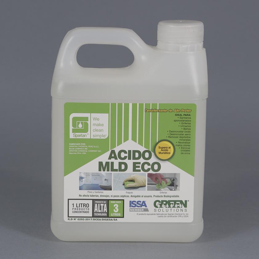 ACIDO MLD ECO – Desincrustante, Desinfectante