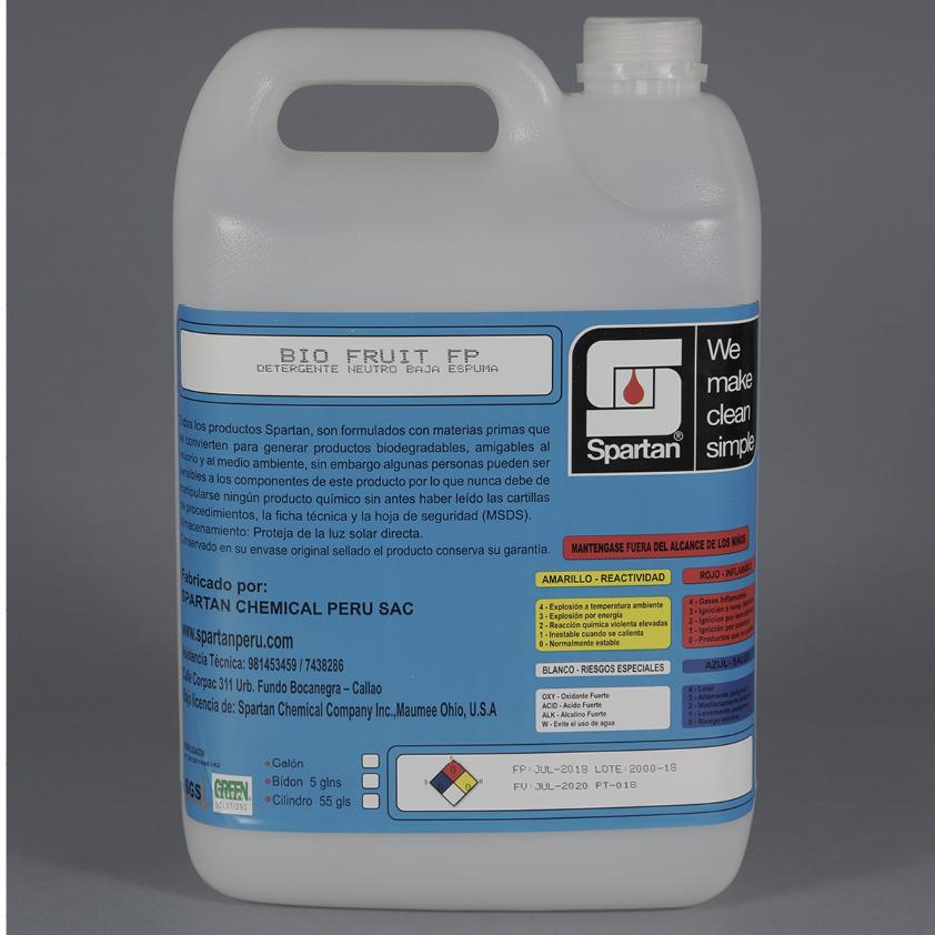 BIO FRUIT FP – Detergente Neutro Baja Espuma