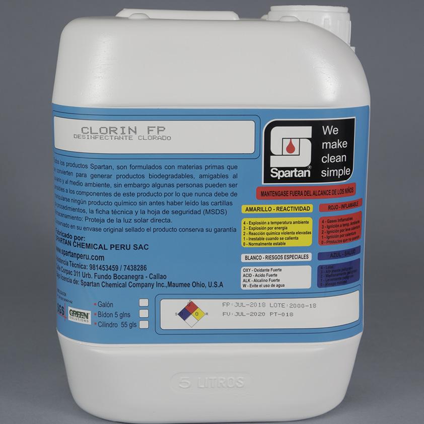CLORIN FP – Desinfectante clorado