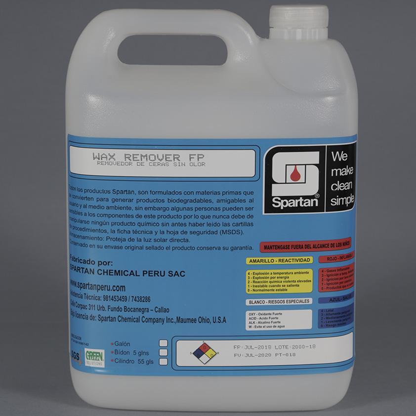 WAX REMOVER FP – Removedor de ceras sin olor