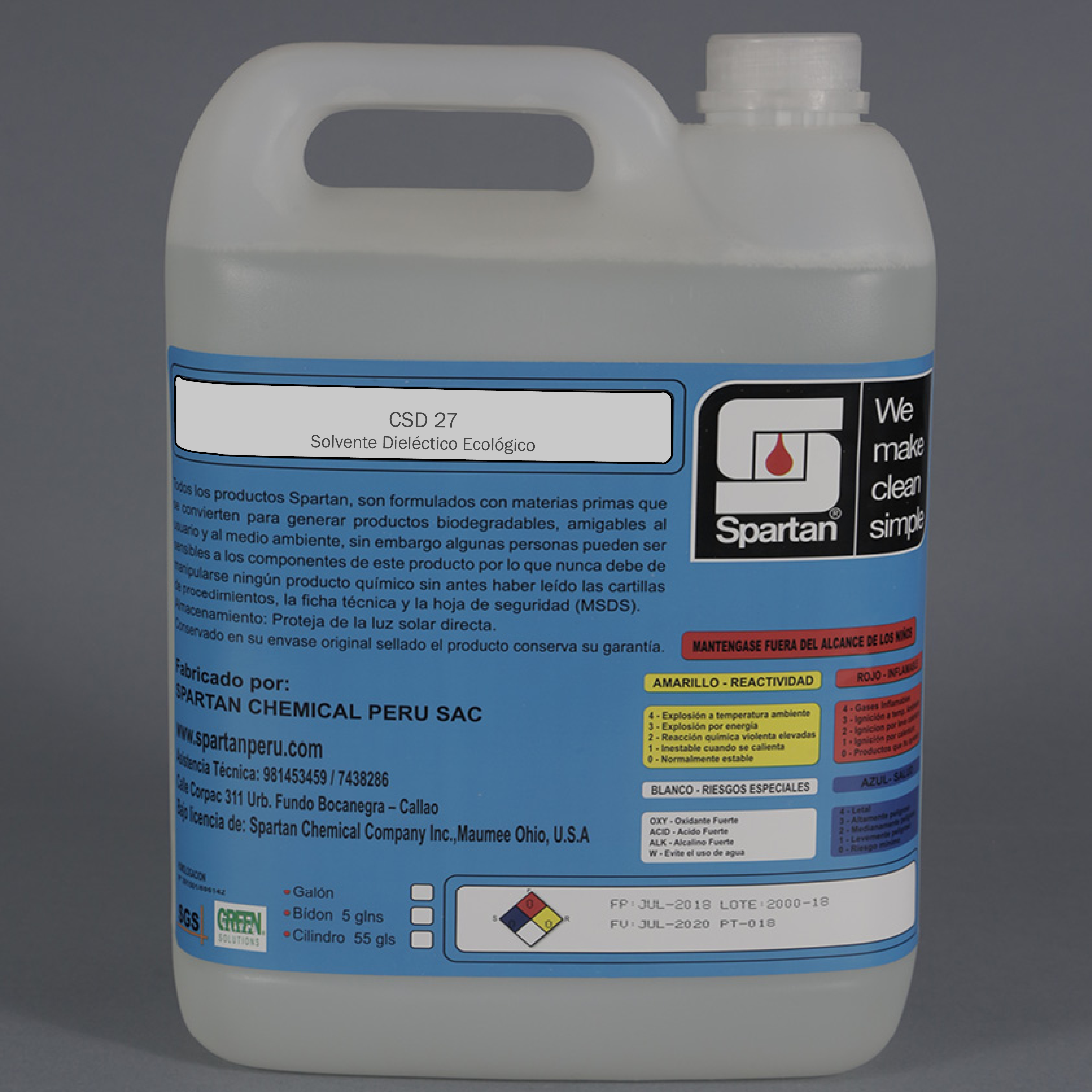 CSD 27 – Solvente dieléctrico ecológico